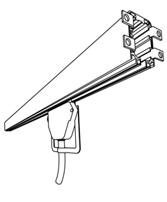 Enclosed contuctor rail
