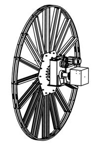 Моторный кабельный барабан КБМ