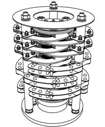 Бескорпусные кольцевые токосъемники